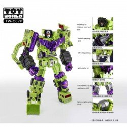 ToyWorld TW-C07P Constructor Set of 6 - Metallic Painting Version