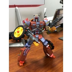 KFC Toys E.A.V.I. METAL Phase 6B+ Dumpyard Metallic Version