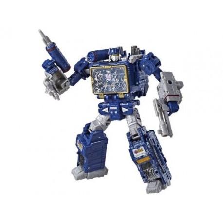 Transformers War for Cybertron Siege Voyager Soundwave
