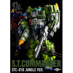 TFC Toys STC-01B Supreme Techtial Commander (Jungle Version)
