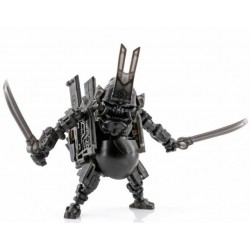 Toy Wolf W-01B Dirty Man Clear Black Limited Edition