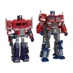 Transformers 35th Anniversary Convoy and Optimus Prime Set of 2 - TakaraTomy Mall Exclusive