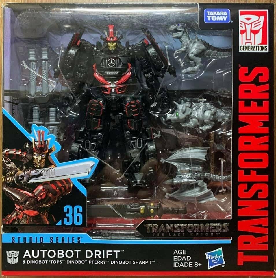 Transformers Studio Series Deluxe Drift with Baby Dinobots Hasbro