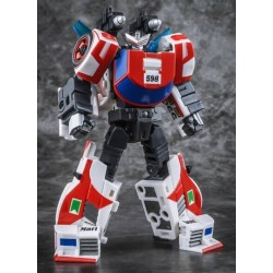 """Figure stands approximately 9CM/3.5"""" tall in robot mode. SGC 11th Convention Exclusive."""