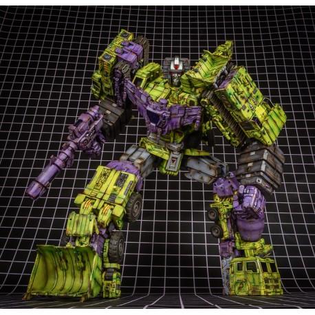 ToyWorld TW-C07G Battle Damaged Green Constructor Set of 6