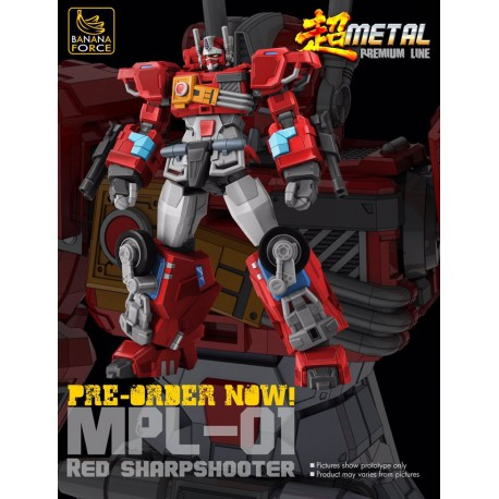 Banana Force MPL-01 Red Sharpshooter