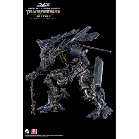 ThreeZero Transformers Revenge of The Fallen DLX  Scale Collectible Series Jetfire