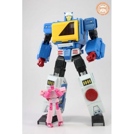 KFC Toys E.A.V.I. METAL Phase 4B Doubledeck w/ Stinger & Mandy