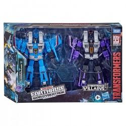 Transformers War For Cybertron Earthrise Voyager Skywarp & Thundercracker 2 Pack